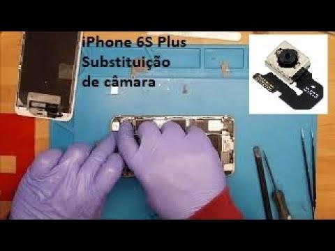 iPhone 6S Plus substituição de câmara traseira, tutorial