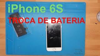 Como trocar bateria de iPhone 6S em 5 minutos