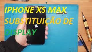 Troca de ecrã de iPhone XS Max troca de tela replace screen