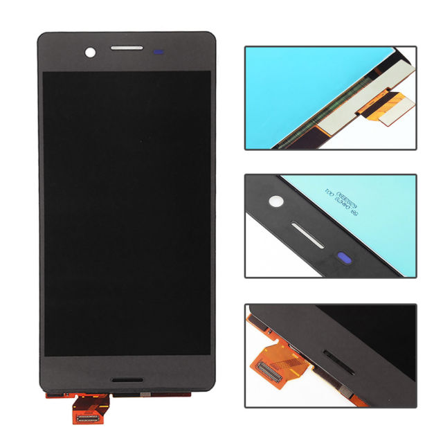 Display LCD   Touch para Sony Xperia X, F5121 Preto