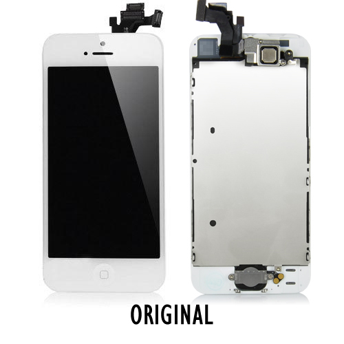 iphone 5 lcd lcd display e touch iphone 5 branco repara 231 227 o mobile 11006