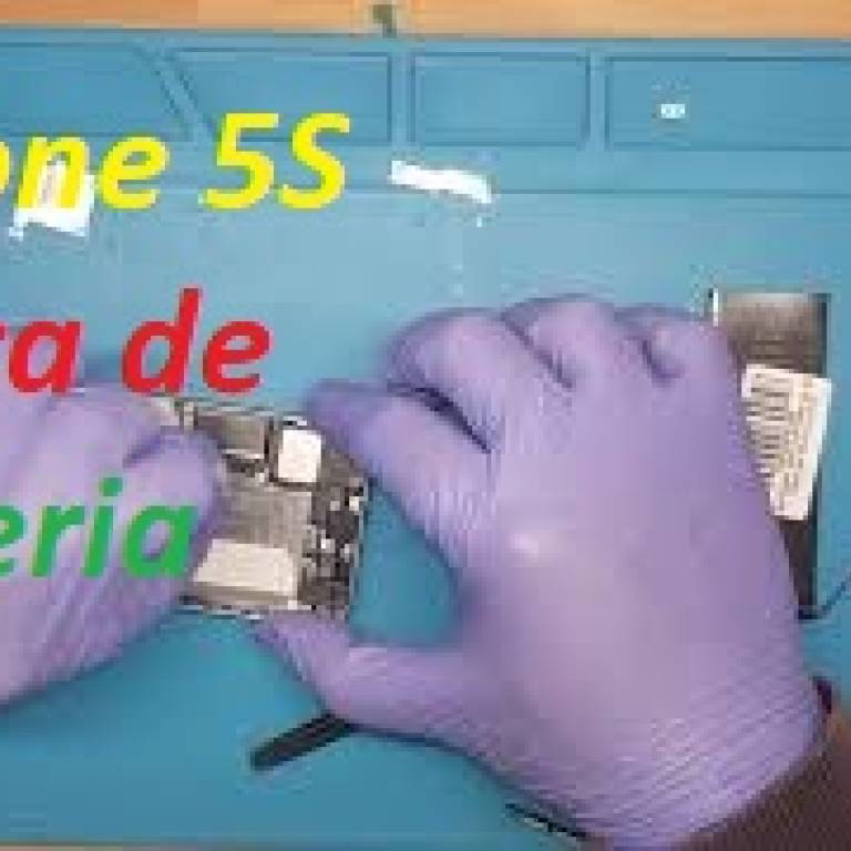 Como trocar bateria iPhone 5S, how to replace battery