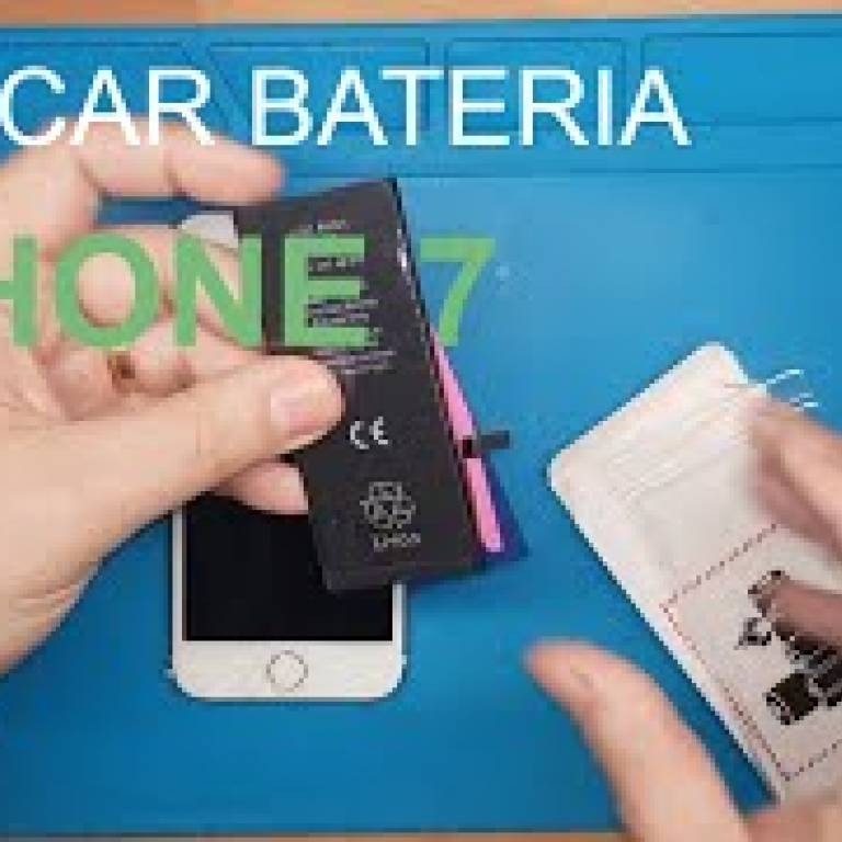 Como trocar bateria iPhone 7, iphone 7 battery replacement
